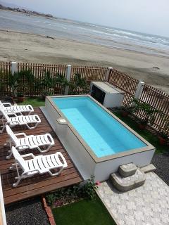 Beachfront B and B Ecuador